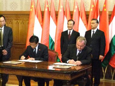 乐虎国际官方网下载集团与匈牙利企业签订发酵制品项目合作协议